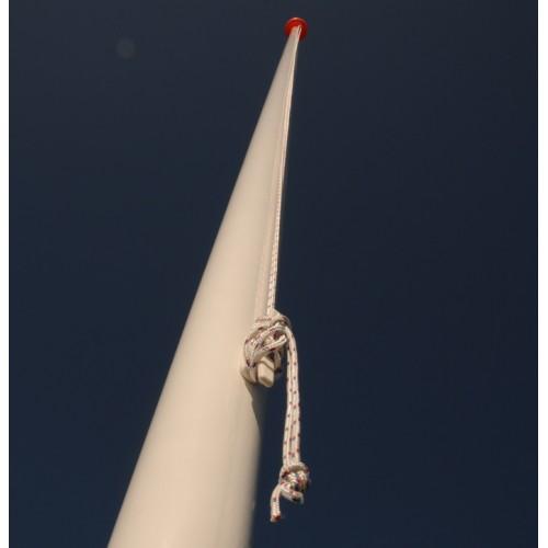 10 meter polyester vlaggenmast