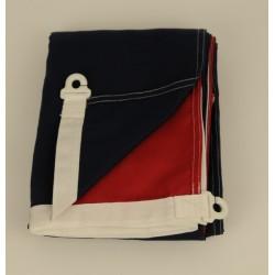 Nederlandse vlag donkerblauw